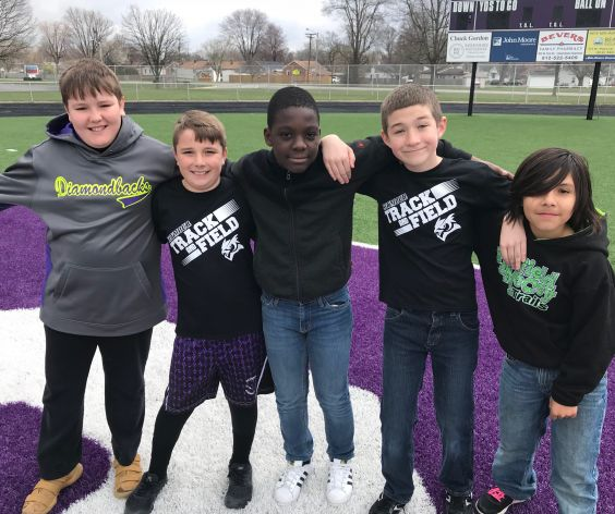 5th Grade Track & Field Day (Boys)